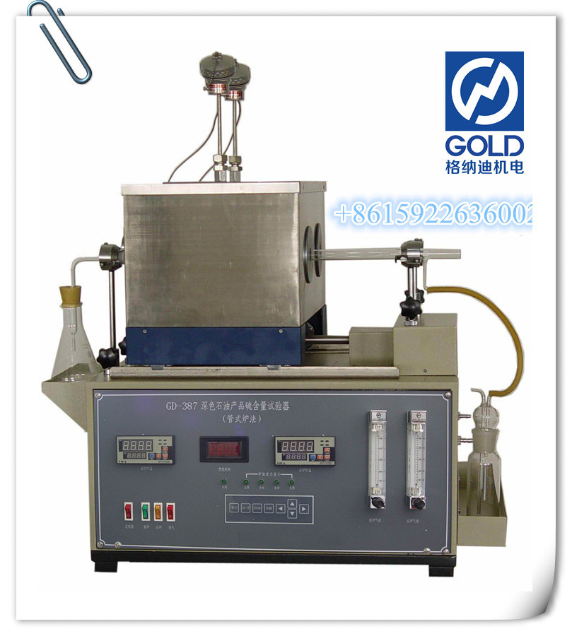 Petroleum Products Sulphur Content Testing Equipment