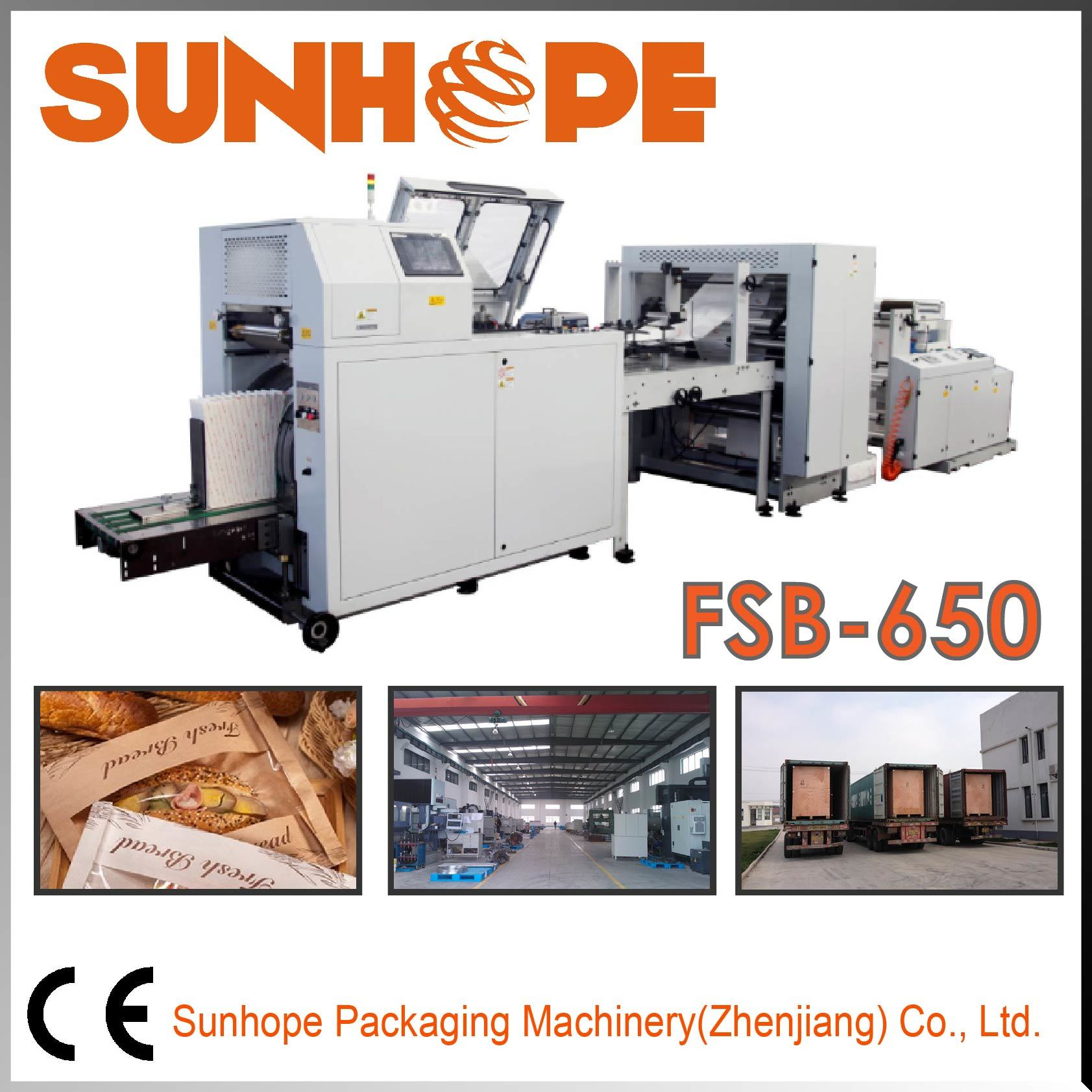 Fsb650 Full-Servo Automatic Flat&Square Paper Bag Machine