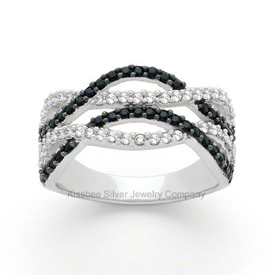 Fashion 925 Sterling Silver Jewellery, Silver with CZ, Silver Jewelry Wholesale (KR3044)