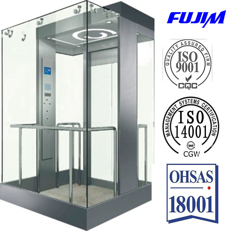 1000kgs Observation Elevator (Square Type) with Competitive Price