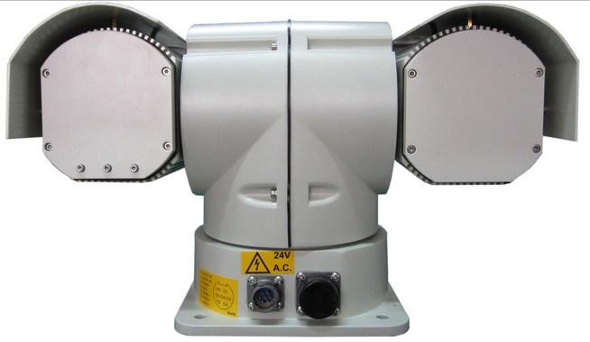 Security PTZ Laser Infrared Camera for 600m Detection