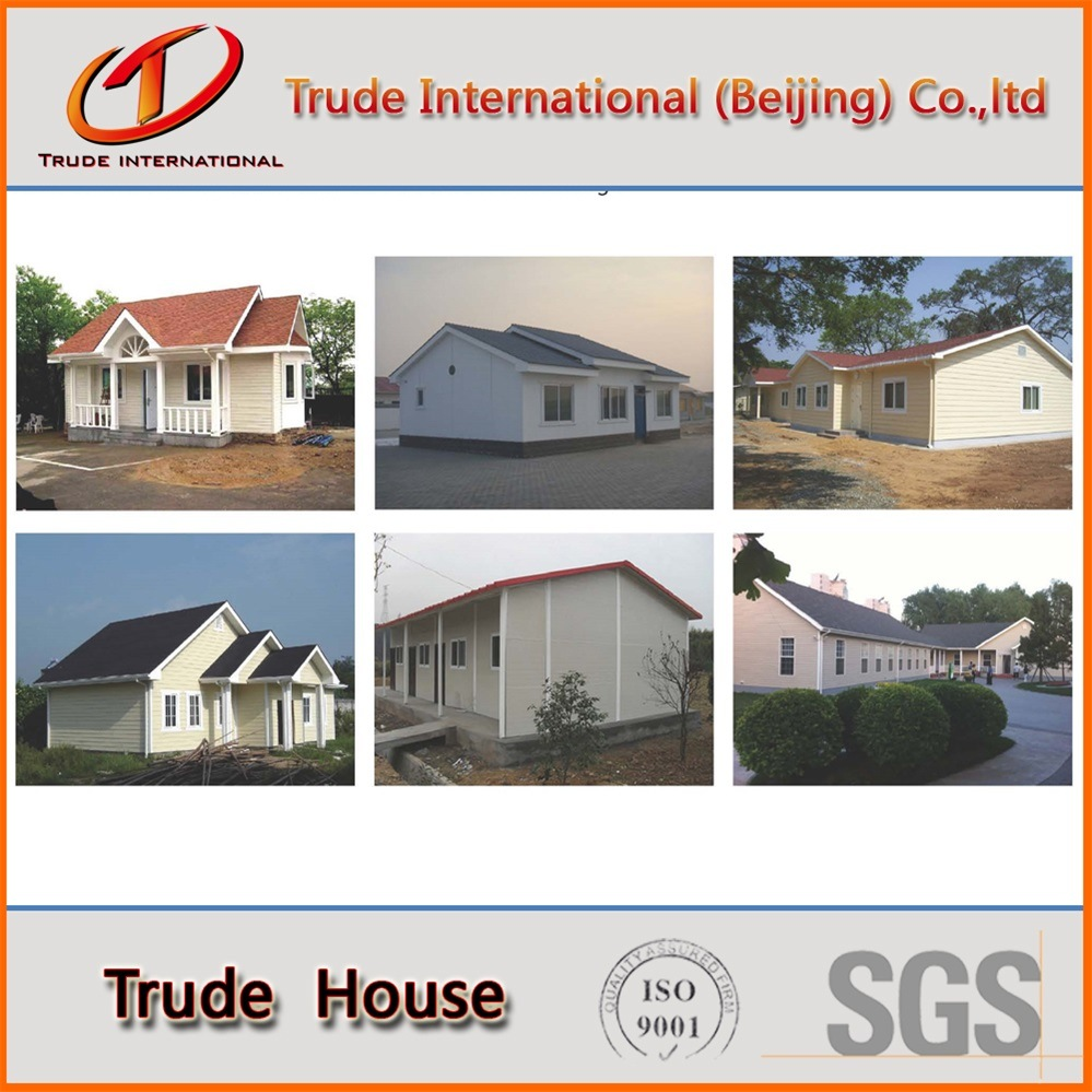 Economic Light Gauge Steel Structure Modular Building/Mobile/Prefab/Prefabricated Family Living House