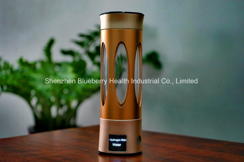 Hydrogen Bottle with Mini Titanium Plates to Produce High Orp and Hydrogen Water