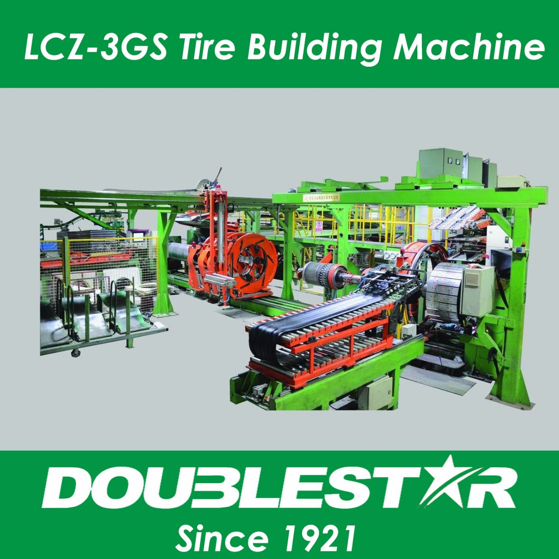 3-Drum Single Stage Radial Tyre Building Machine (LCZ-3G)