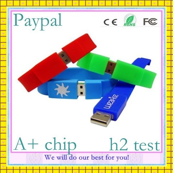 Promotion USB Wristband USB Flash Drive Bracelet (GC-SW-001)