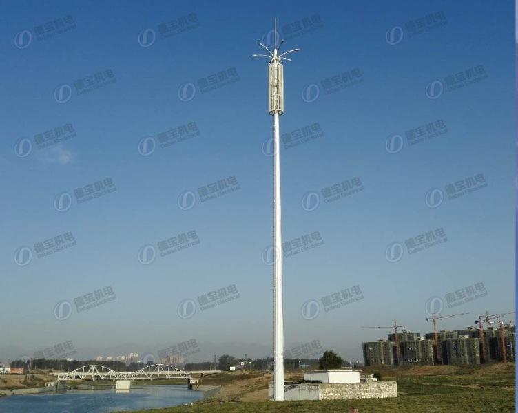 Climbing-up Landscape Monopole Tower