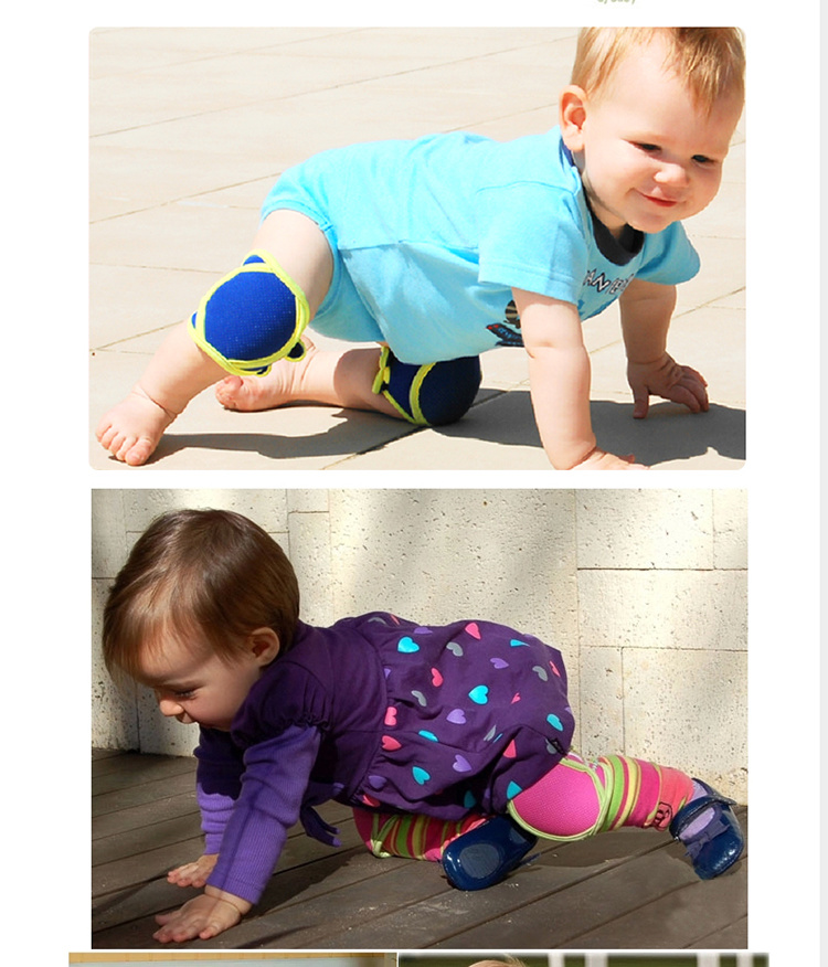 Baby Crawling Movement, Protect The Knee, Prevent The Knee Injury, Infant Knee Safe Bag