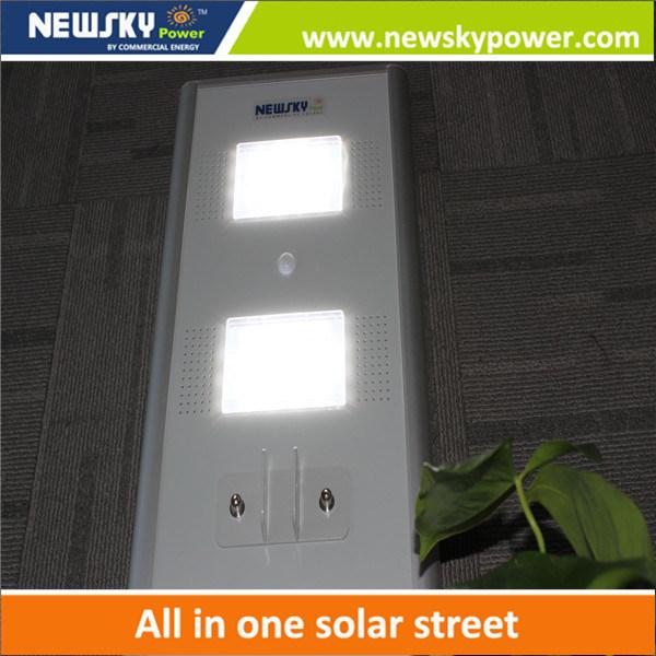 25W Energy Saving All in One Solar LED Street Light