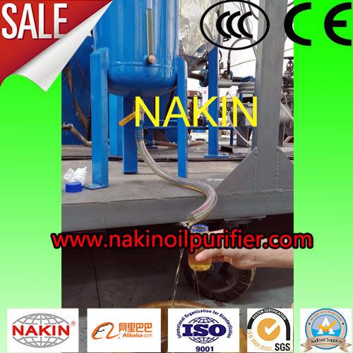 Waste Lubricants Oil Recycling Machine/Oil Regeneration Refining Machine