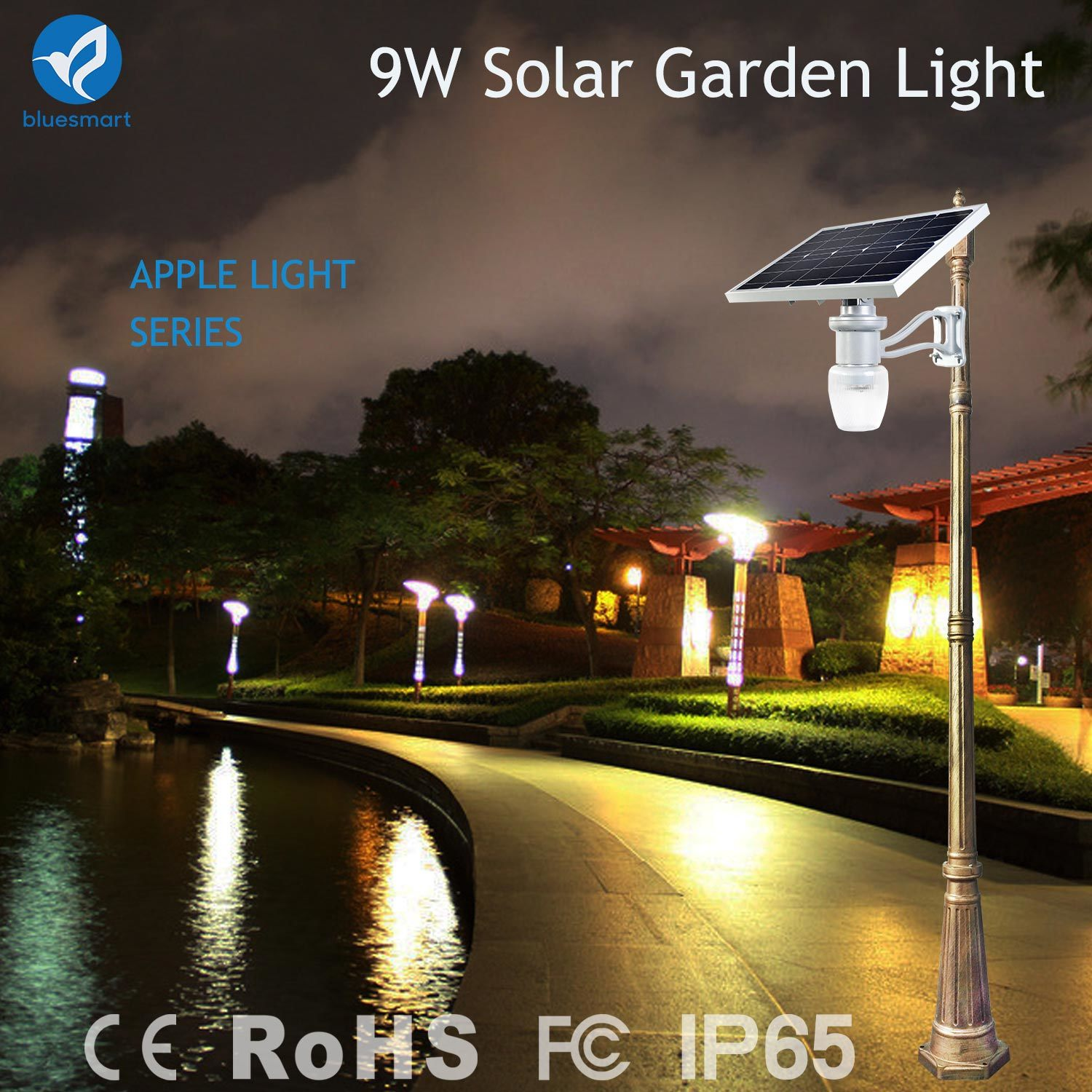 smart solar garden light bluesmart solar pv co ltd page 1