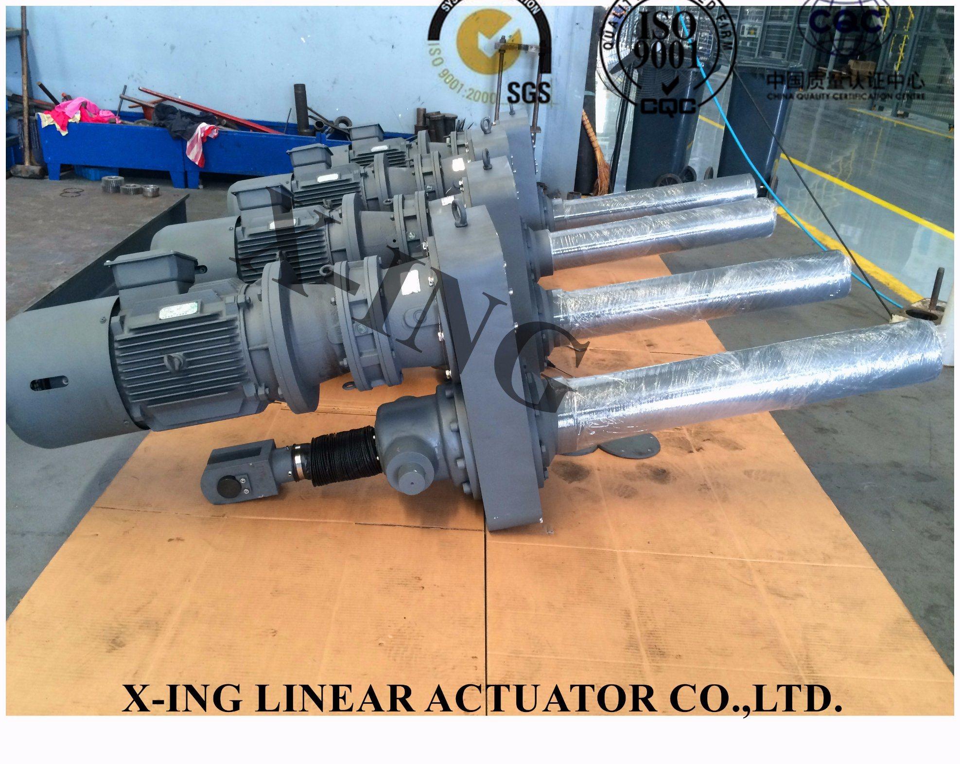 Electric Standard Weight Elevator / Motor Drive Weight Actuator