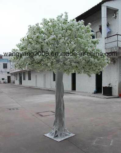 Factory Sell White Artificial Cherry Blossom Sakura Tree
