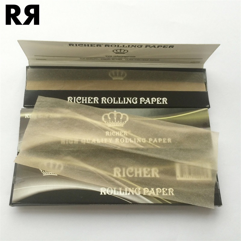 Brown Cigarette Paper with Water Mark