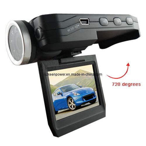 HD 1080P Portable LCD Car Camcorder Digital Video Camera Recorder DVR with 180 D