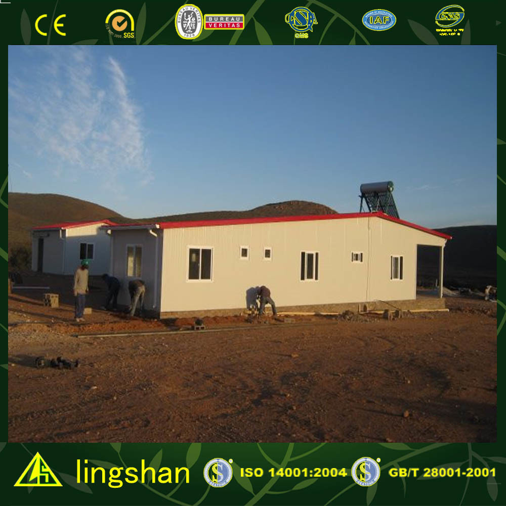 Modern Prefab House (LS-MC-034)
