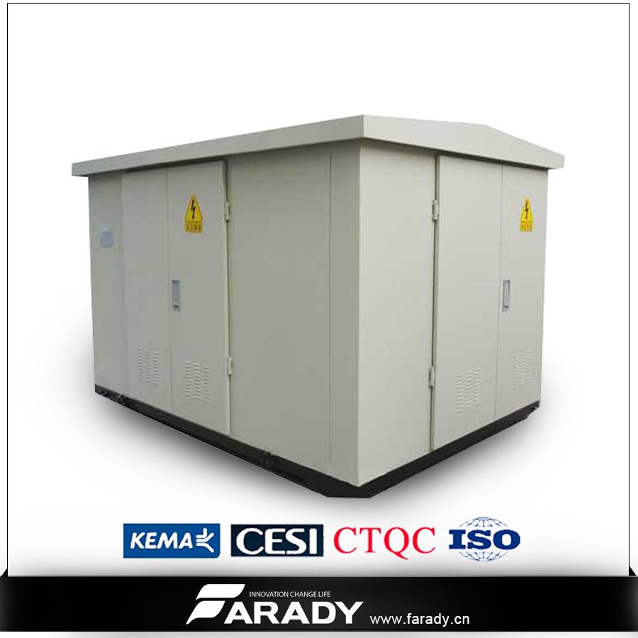 15kv 17.5kv 630kVA Prefabricated Compact Substation Transformer Kiosk Type Transformer