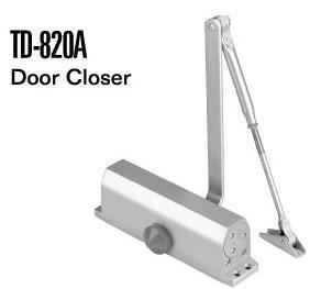Wood Door Accessories Aluminum Hinge Door Closer