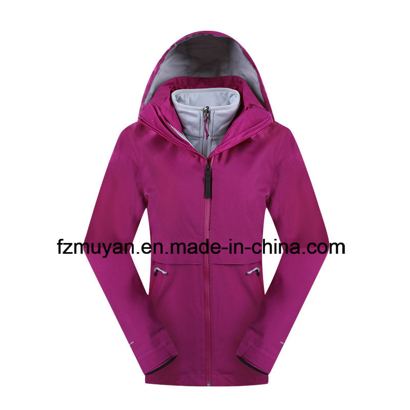 Women Waterproof Breathable Triple Jacket