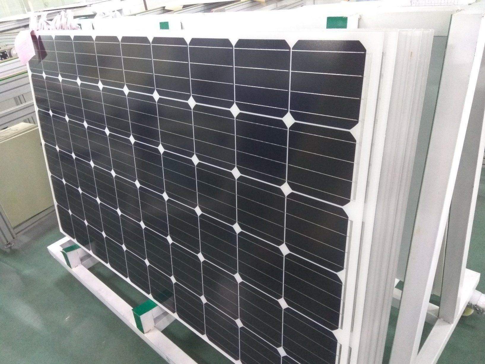 Long-Term Durability Anodized Black Aluminum Frame Mono 270W Solar Panel