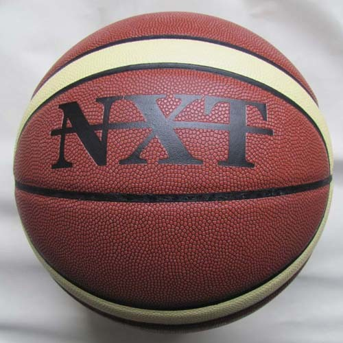 12 panels Basketball,PVC/PU/Leather material (B02112)
