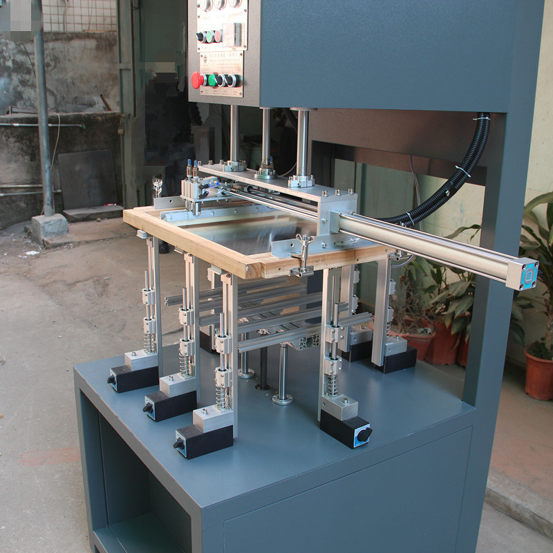 Window Patching Machine for Plane Window and Right-Angle Window