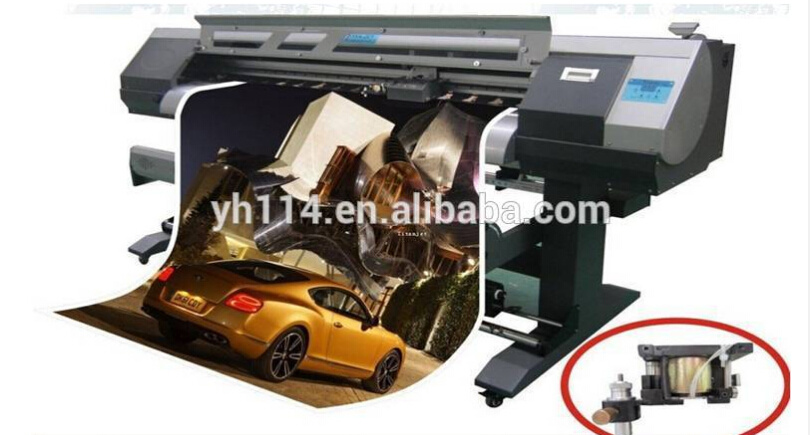 China M Printer And Cutter With Epson Dx Head For Vinyl - Vinyl decal printer