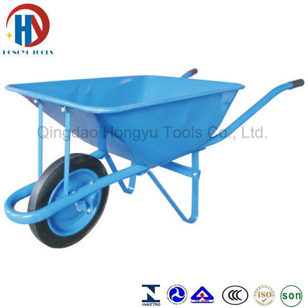 Africa Big Capacity Wheel Barrow with Rib Tire