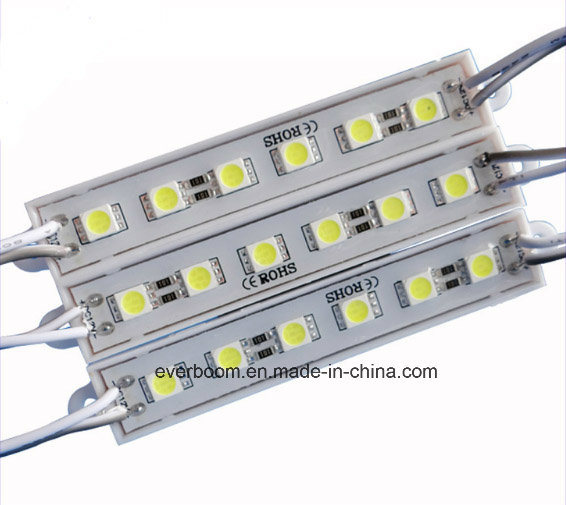 High Power SMD5050 LED Module 6LED