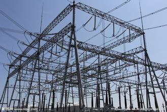 110kv Steel Power Substation Structure