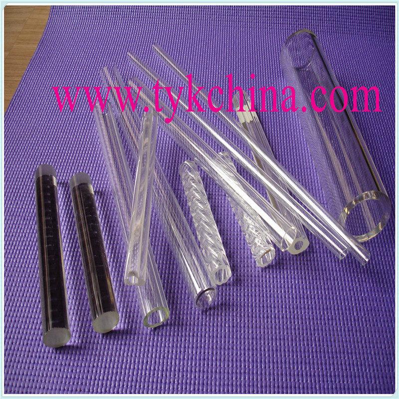 Prex Heat Resistant Glass Rod for Laboratory Glassware Lens Craft