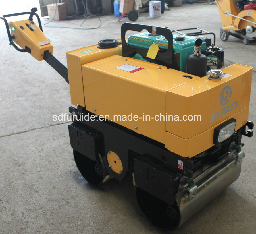 Hydraulic Walk Behind Double Drum Vibratory Road Roller (FYL-800)