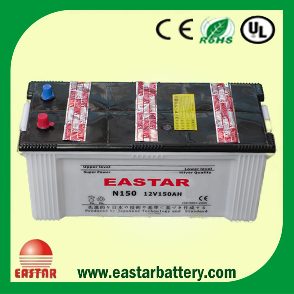 150ah DIN Standard Automobile Storage SMF Battery