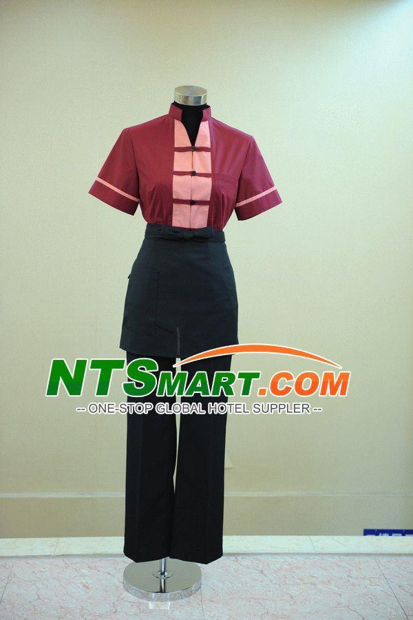 Waitress′s Fall/Winter Blouse (01071300000201\01071300000202)