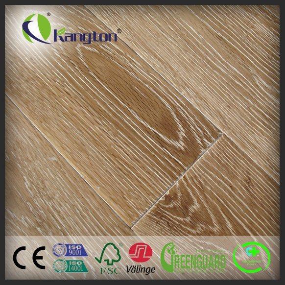 14/3mm Natural European Oak Engineered Wood Flooring (wood flooring)