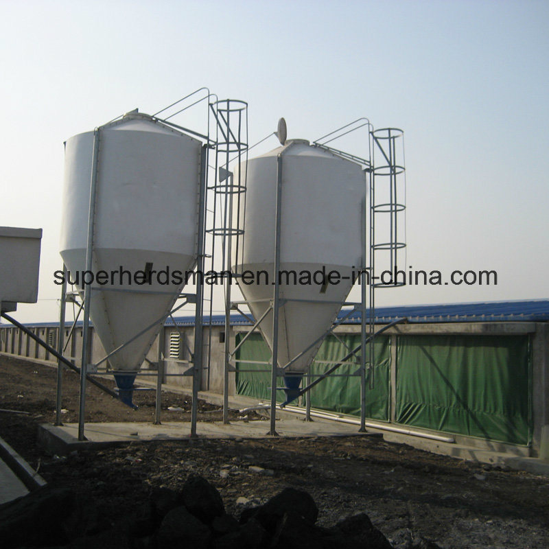 Hot Gavanized Poultry House Silo for Feed Storage