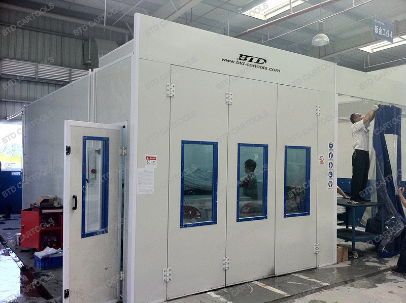 Automotive Paint Spray Booth Spray Booth Filter Mobile Paint Booth
