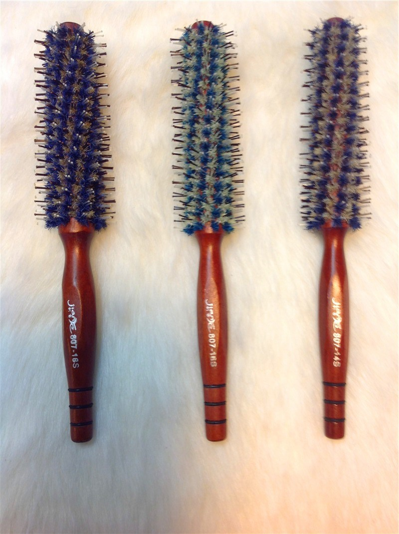 Different Size Hair Brush Nylon and Boar Bristle (F007)