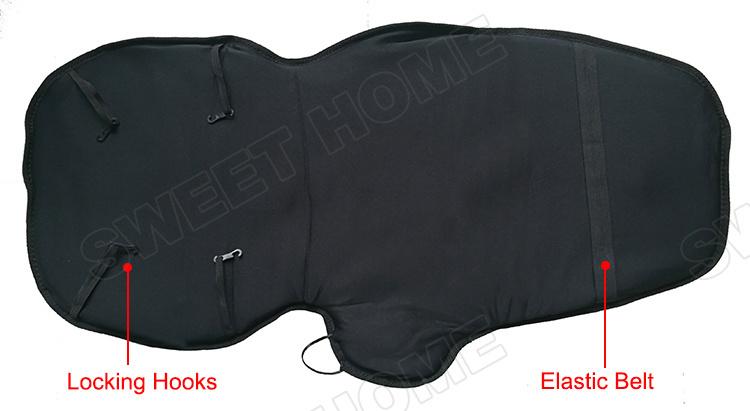 Electric Vibration Heat Car Seat Back Pain Massage Machine