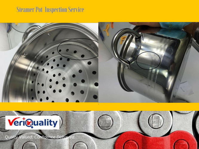 China Steamer Pot QC Inspection and Quality Control Service