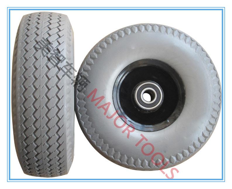 350-4 Solid Foam Tubeless Wheel for Wheelbarrow