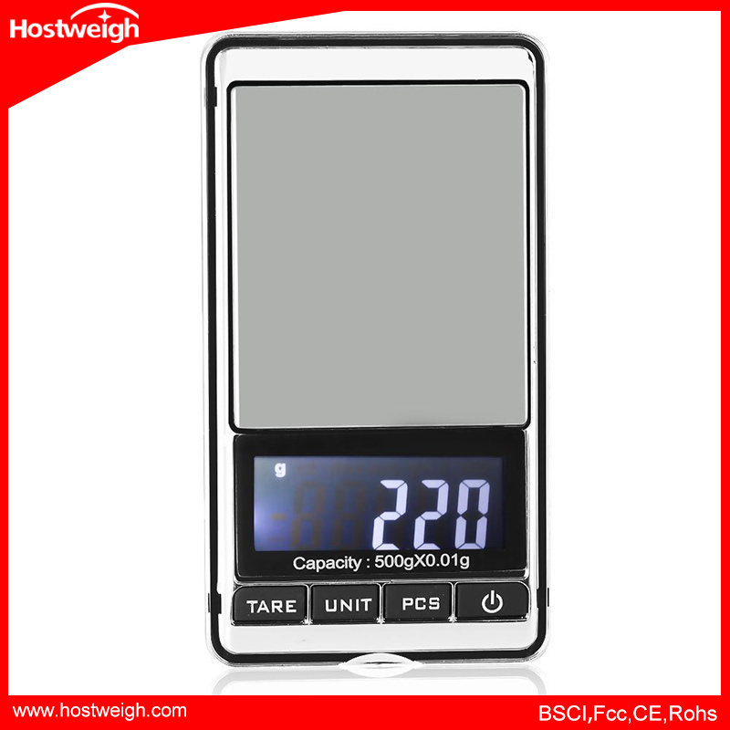 Precision Electronic Digital Pocket Jewelry Weighing Scale