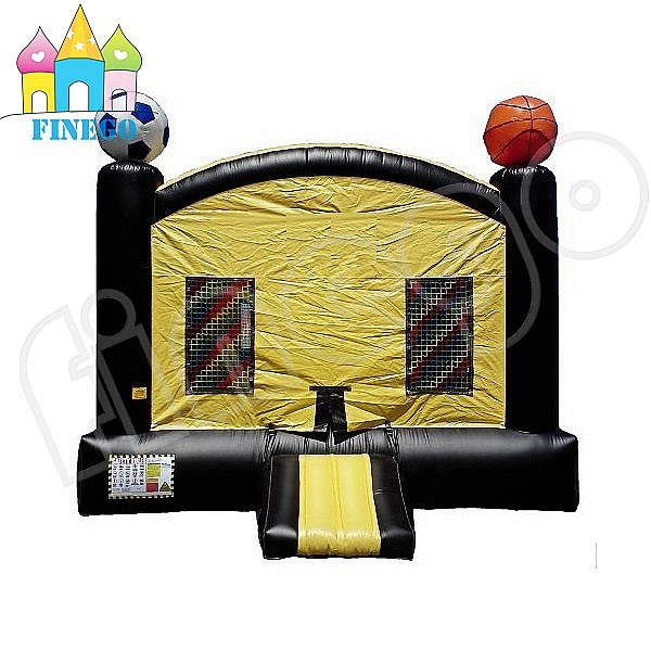 Outdoor Football Theme Inflatable House Bouncy Castle for Kids