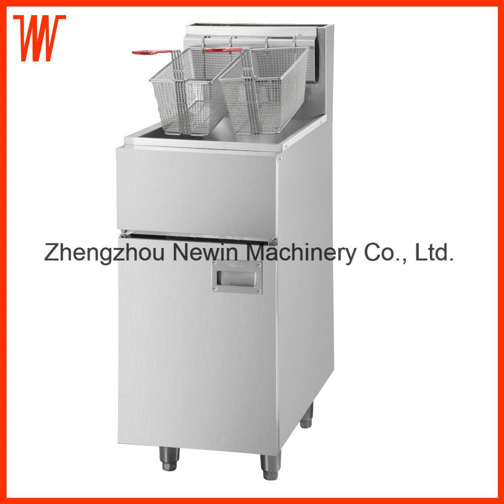 Commercial Floor Type Deep Gas Fryer