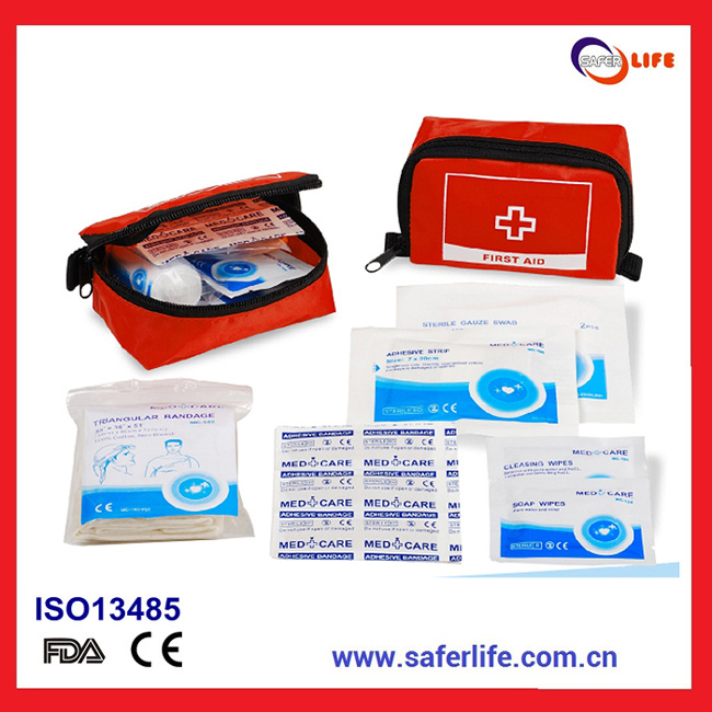 Mini First Aid Kit for Wholesale & Travel First Aid Bag for Promotional Gift