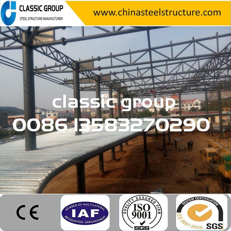 Big Hot-Selling Steel Frame Structure Warehouse/Workshop/Hangar/Factory Price