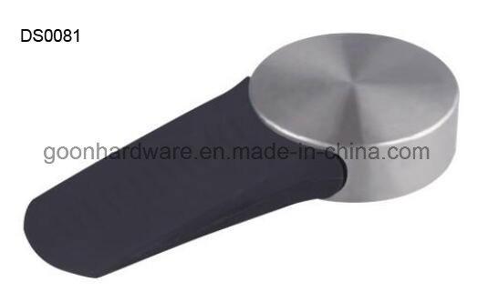 Zinc Door Stopper/Door Wedge with Rubber Ds0082