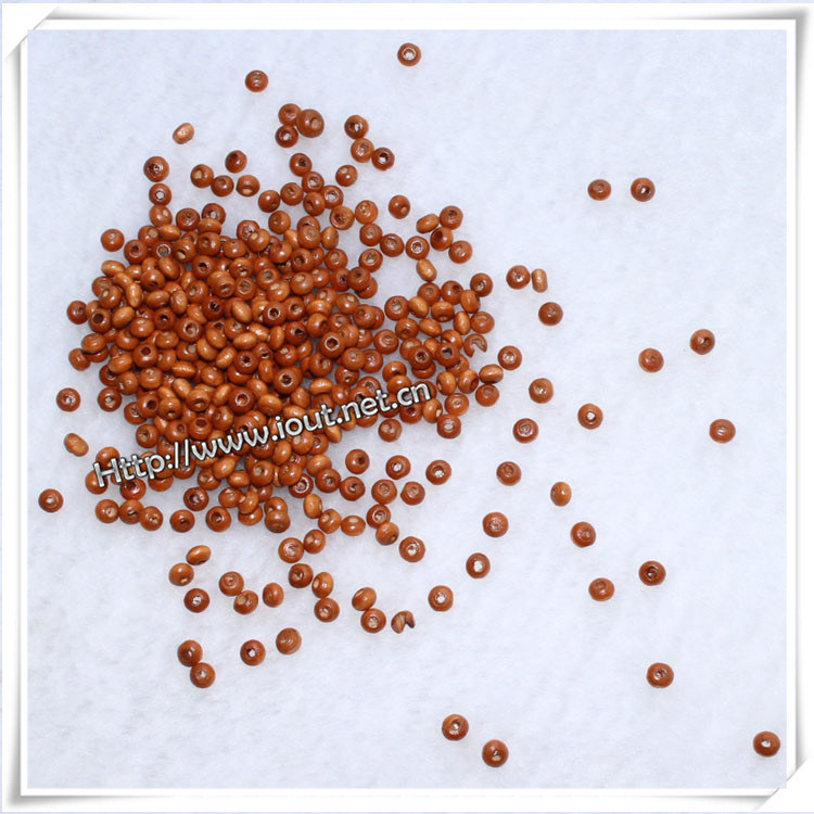 Natural Unfinished Round Wooden Beads for Wholesale (IO-wa002)