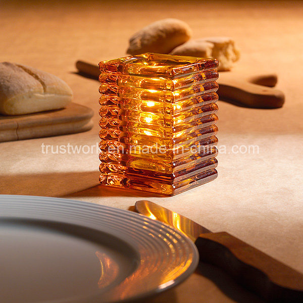 Hospitality Home Decoration Glass Candle Holder