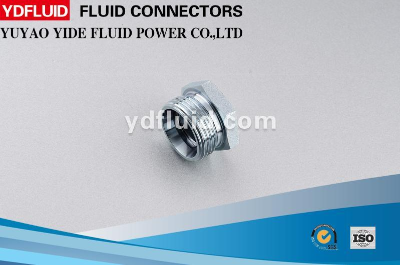 High Quality Cheap Custom 37degree Jic Male Plug Hydraulic Plug