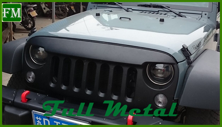 Car Modified Anger Bird Grille for Jeep Wranglers Jk 2007+